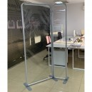 STANDS MODULABLES DE PROTECTION PUBLICITAIRE