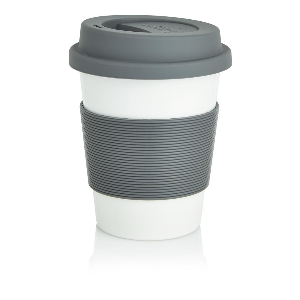 MUG GOBELET PP RECYCLABLE ET SILICONE JUSTINE