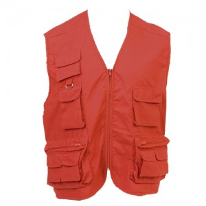 GILET REPORTER MULTIPOCHES TAHOE PUBLICITAIRE