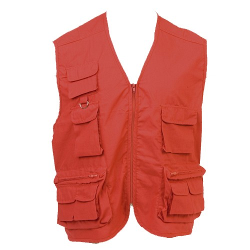 GILET REPORTER MULTIPOCHES TAHOE
