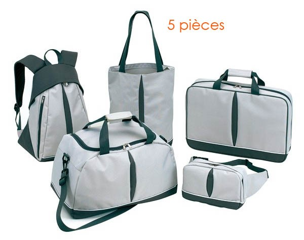 SET DE VOYAGE 5 PIECES BASIC