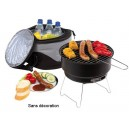 BARBECUE AVEC SAC ISOTHERME PUBLICITAIRE