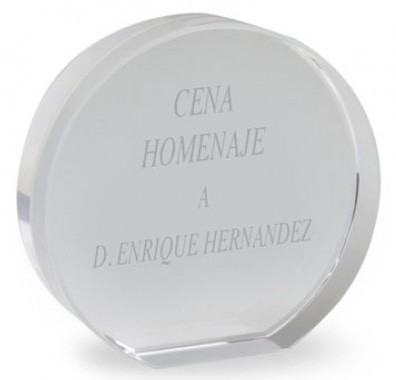 TROPHEE FORME CIRCULAIRE ROND