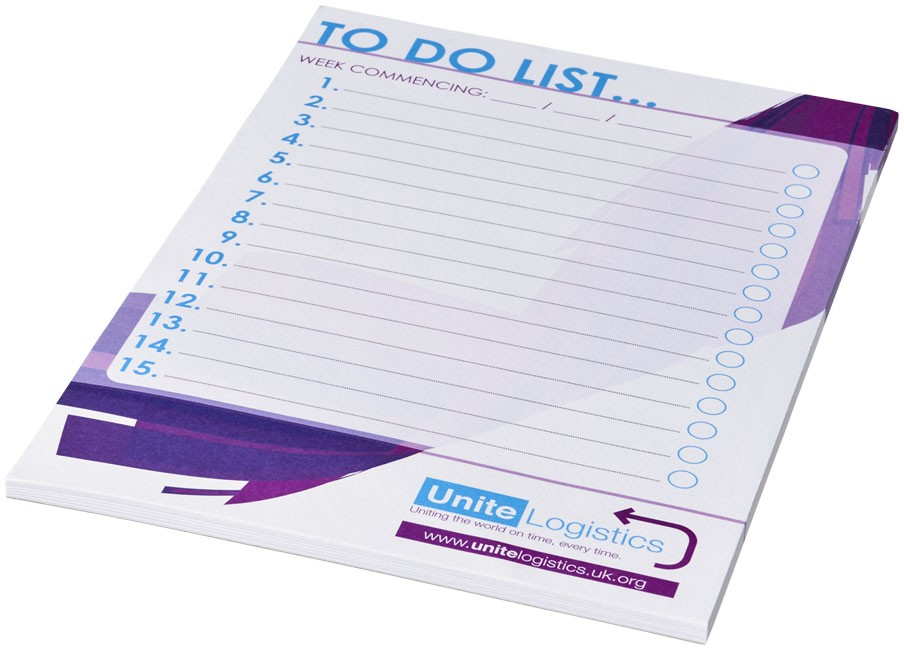 BLOC NOTES DESK MATE TO DO LIST