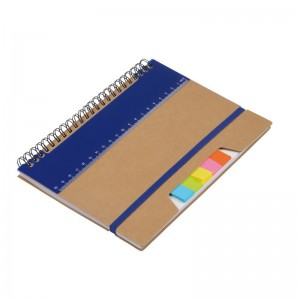 SET CARNET REGLE STYLO RECYCLE NEVADA PUBLICITAIRE