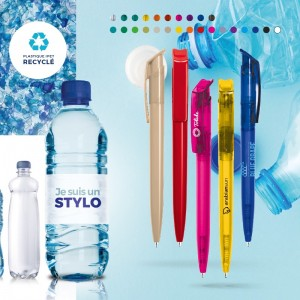 STYLO PET RECYCLE MADE IN EUROPE LAURA PUBLICITAIRE