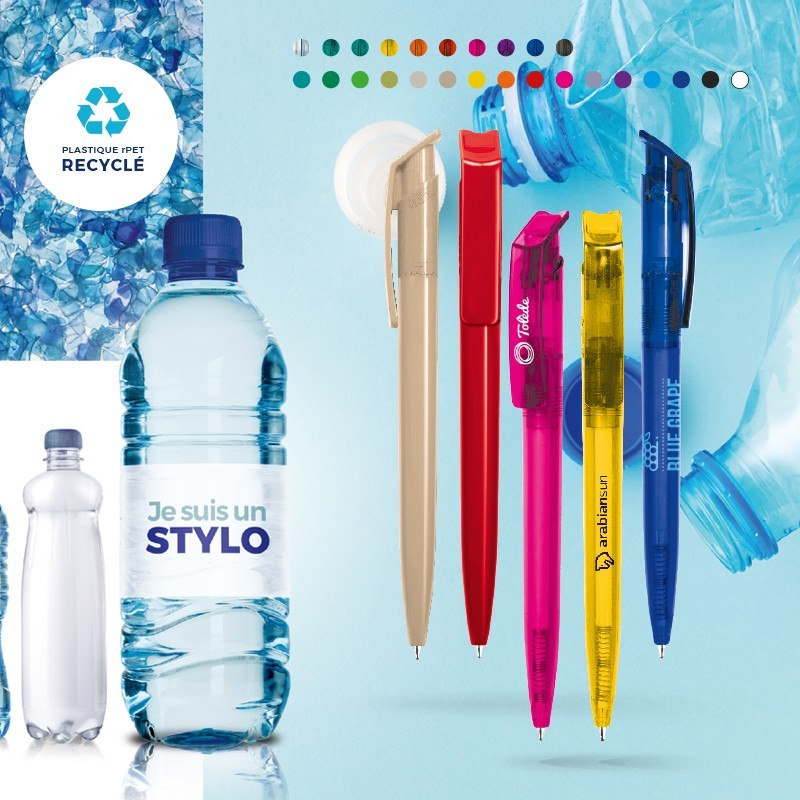STYLO PET RECYCLE MADE IN EUROPE LAURA